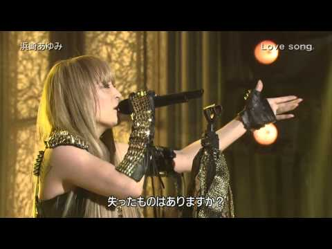 Ayumi Hamasaki - Love song @ Best Artist 101215