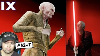 Snoke VS Palpatine Fight Simulator - Movie Duels 2