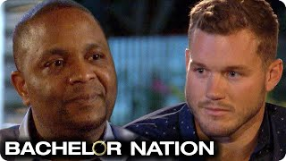 Will Tayshia's Dad Give His Blessing To Colton? | The Bachelor US