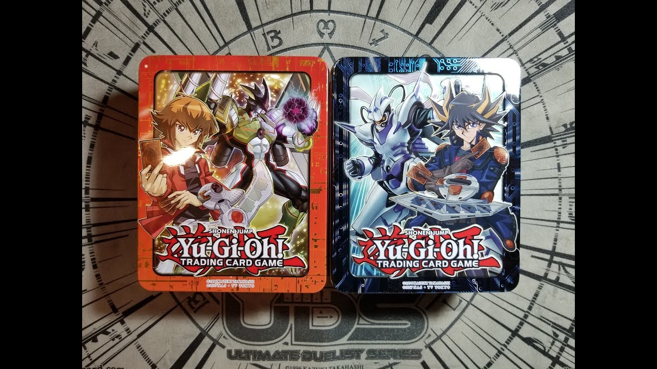 Jaden Yuki TCG 2018 Mega Tin Yu-Gi-Oh