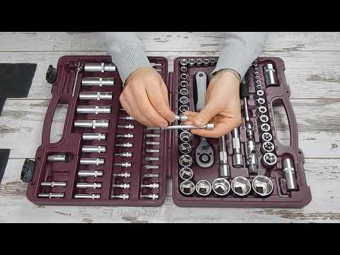 🔧 Thorvik UTS0108 Набор инструмента Тхорвик 108 предметов