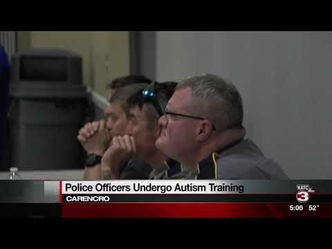 Carencro PD autism training