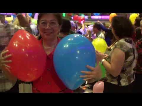 The Balloon Lady Grand Princess Hawaii Cruise from San Francisco Balloon Drop Party #2