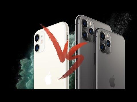 Apple iPhone 11 | 11 Pro | 11 Pro Max — СРАВНЕНИЕ
