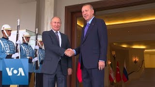 Russia's Putin holds bilateral talks with Turkey's Erdogan