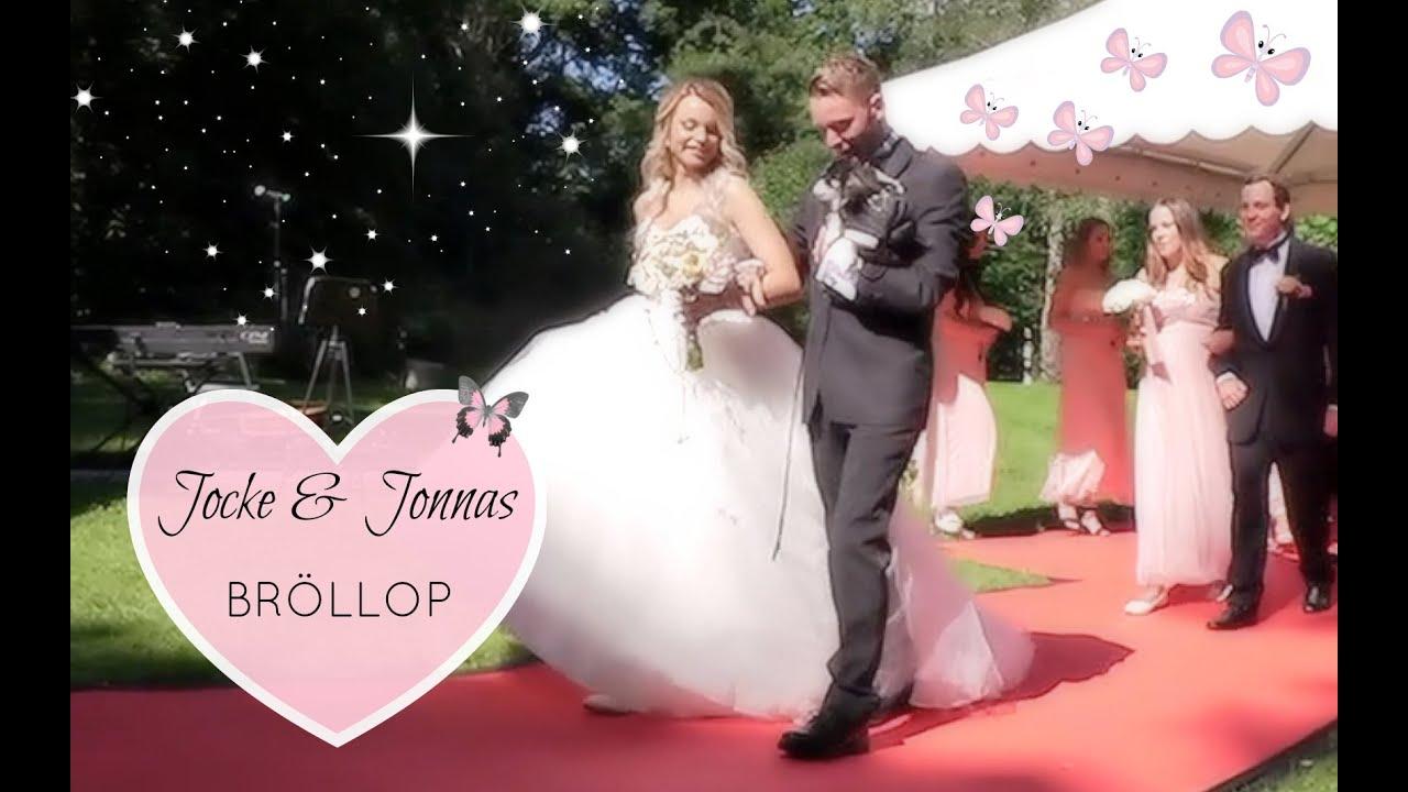 jocke jonna bröllop