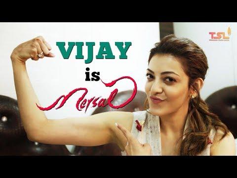 Vijay is Mersal | Rapid Fire with Kajal Aggarwal | Mersal Tamil Movie | Sri Thenandal Films