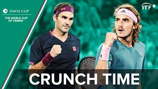 Roger Federer v Stefanos Tsitsipas | Crunch Time | Hopman Cup 2019