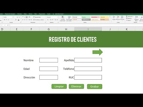 Como hacer una BASE DE DATOS en Excel.из YouTube · Длительность: 45 мин24 с