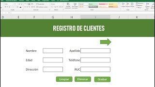 Como hacer una BASE DE DATOS en Excel.