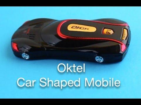 Oktel Car Shaped Mobile