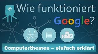 Wie funktioniert (die) Google (Suche)? [Visualisierung]
