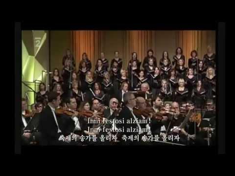 개선행진곡 -베르디의 오페라 아이다에서 (원어+한글자막) Triumphal March -English subtitles 유샤인번역판