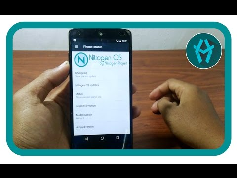 [NITROGEN OS] Android 7.1 Nexus 5