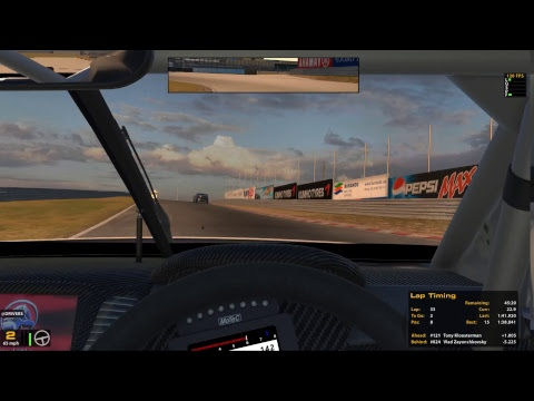 Penpower Euro V8 Supercar League @Zandvoort Race 2(34l with pitstop)