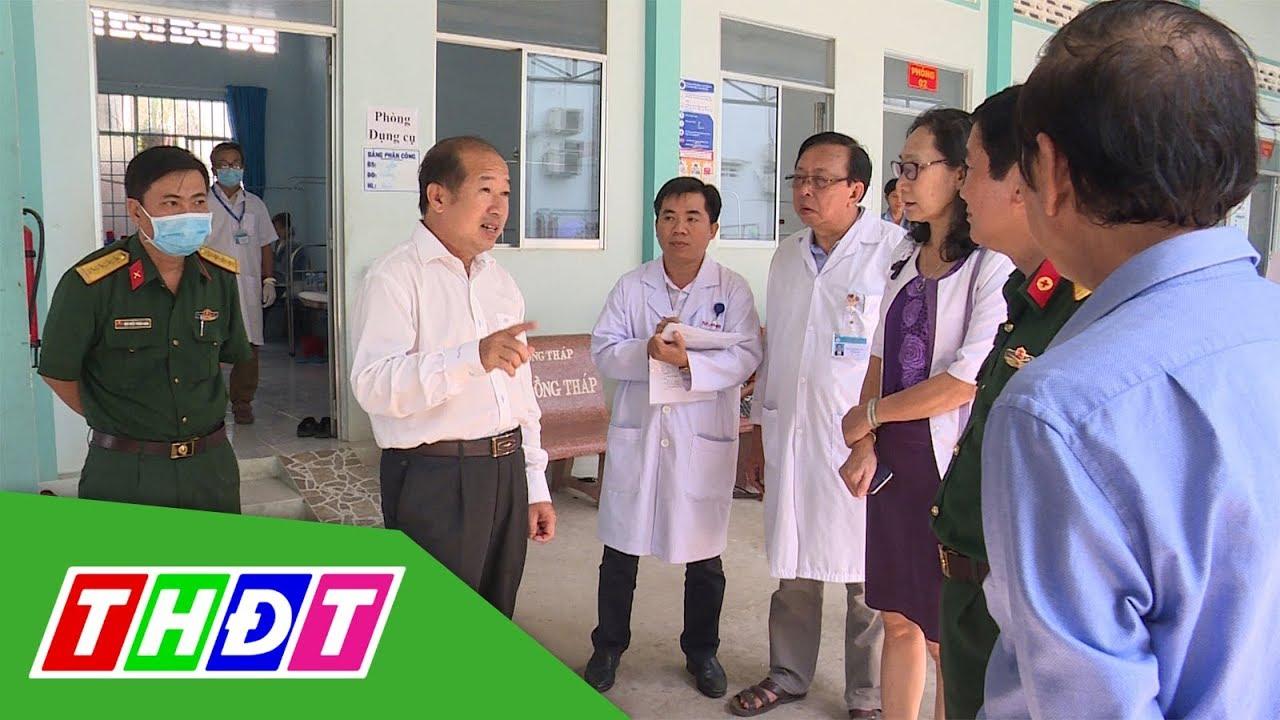 Đồng Tháp: Cách ly 13 người đến từ vùng mầm bệnh nCoV | THDT