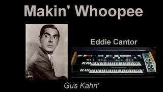 Makin' Whoopee  (Eddie Cantor) - Omar Garcia - HAMMOND X66