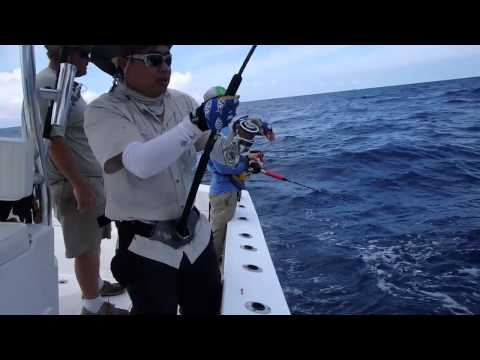 Jigging for AmberJacks and more in North Carolina