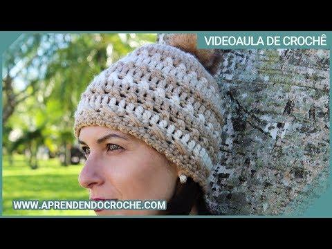 Gorro Fácil Animal em Crochê - Aprendendo Crochê - YouTube b9dc5869b76