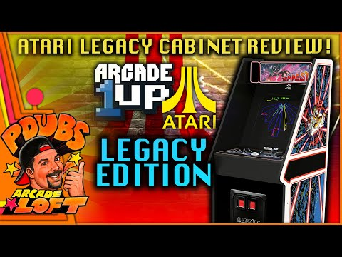Arcade1Up Atari Legacy Cabinet Review!  Is this Tempest Cabinet The Best 'Legacy' Cabinet?! from PDubs Arcade Loft