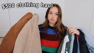 brandy melville & urban outfitters try-on haul