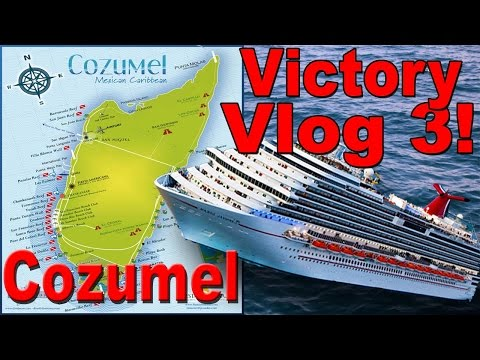 """Carnival Victory Vlog #3 """"Cozumel, surfing, and more!"""""""