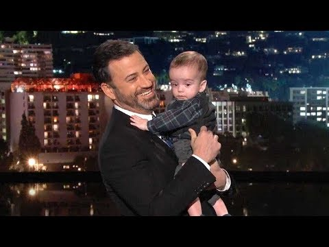 Download Youtube: Jimmy Kimmel Tears Up Holding His Son, Billy, During His Return to Late Night