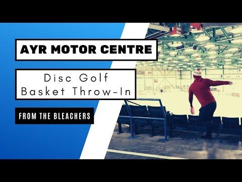 Disc Golf Basket Bleacher Throw-In