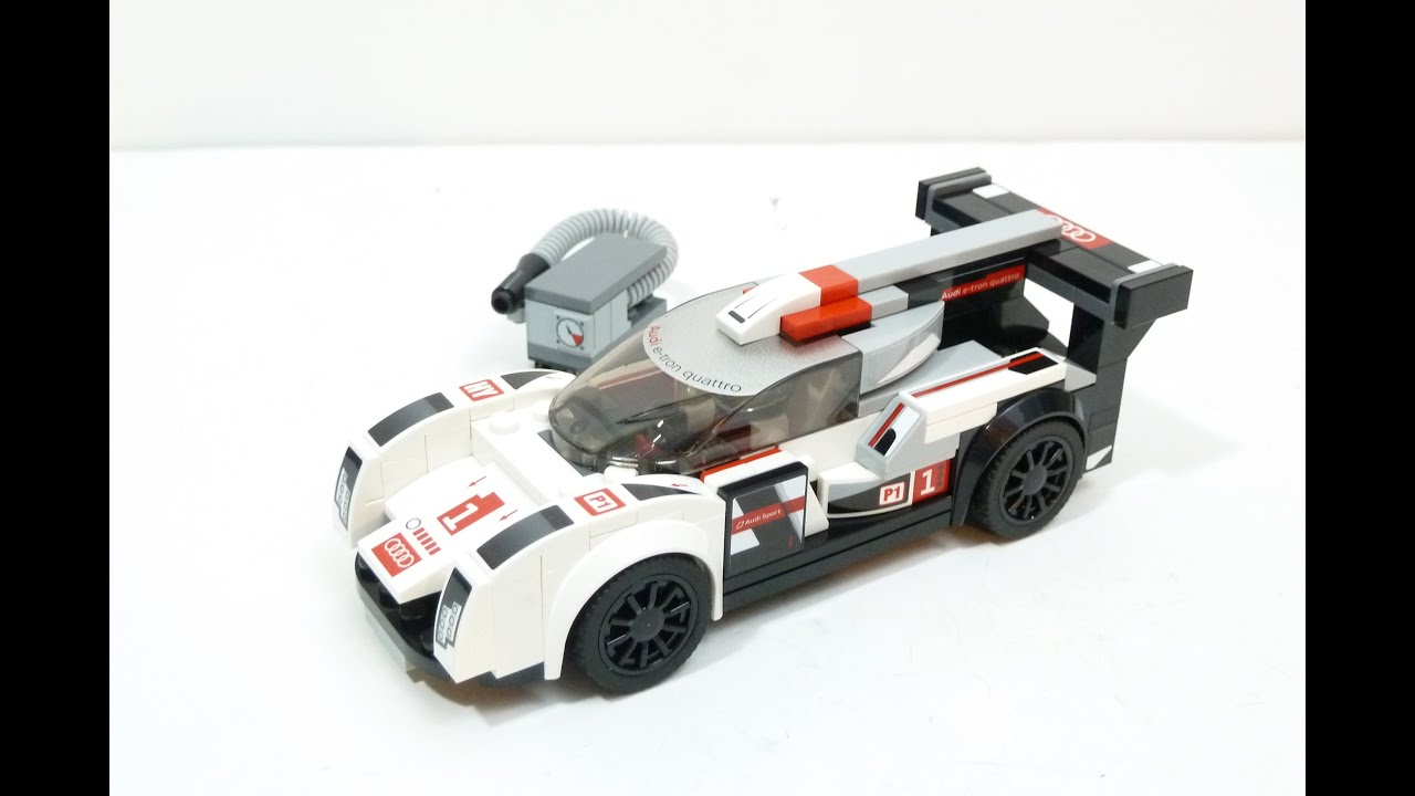 Lego Speed Champions 75872 Audi R18 E Tron Quattro Review