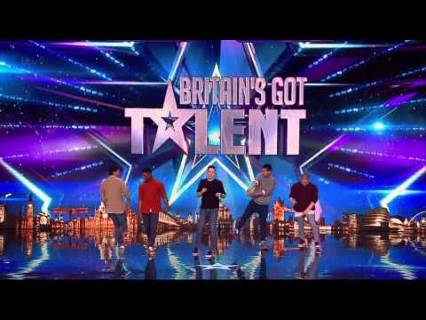 Britain's Got Talent 2015 S09E02 Dance Crew Boyband Full Video