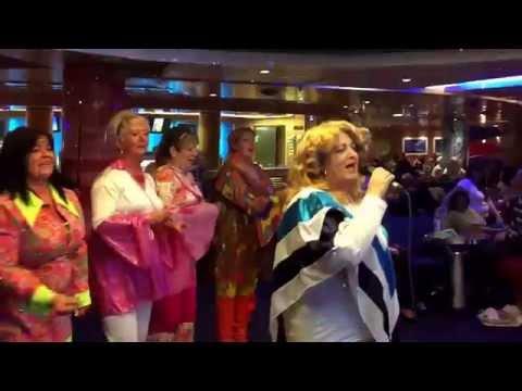#djdamiendevenney - Stenaline karaoke on the Superfast VII at Cairnryan port on Fri 28th Nov 2014