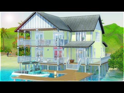 The Sims 3 Speed Build - Montoya Beach House