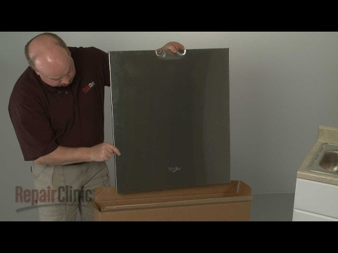 Outer Door Panel - Whirlpool Dishwasher Repair