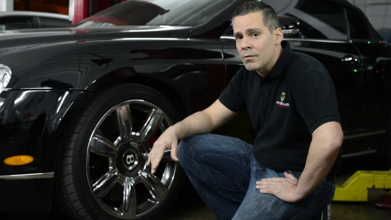 Bentley Continental Common Failure Air Suspension Youtube
