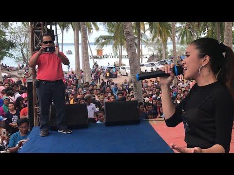 Ku takkan bersuara baby shima live konser di Belitung Indonesia