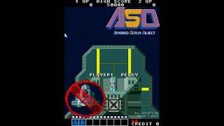 ASO (Armored Scrum Object) - 1CC (2 Loops) / エーエスオー / 아소 / Alpha Mission