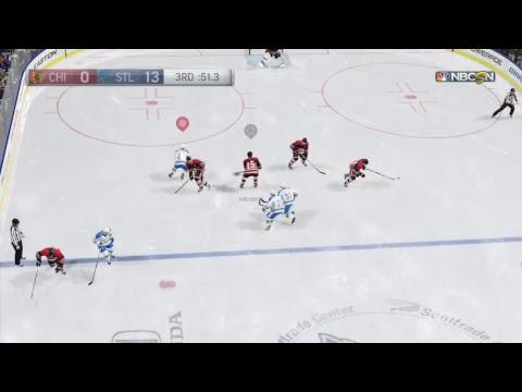 Blues vs Blackhawks from Scottrade Center