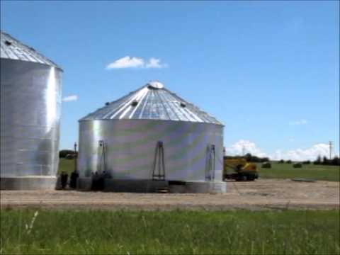 How to build a Grain Bin