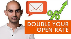 How to DOUBLE Your Email Open Rates (4 Email Marketing Tips to Get Over 30% Email Open Rates)