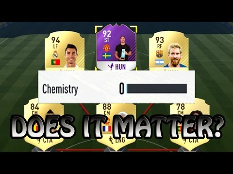 NO CHEMISTRY!! DOES IT EVEN MATTER?? | FIFA 17 ULTIMATE TEAM