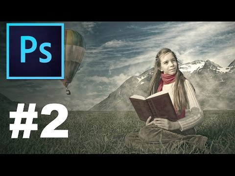 Create Photo Composition in Photoshop! - Cutting out The Sky