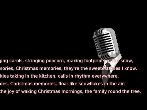 Frank Sinatra - Christmas Memories (lyrics)