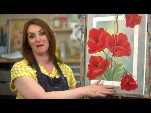 Poppy duo flower oil painting tutorial paint with maz online poppy duo flower oil painting tutorial paint with maz online preview youtube mightylinksfo