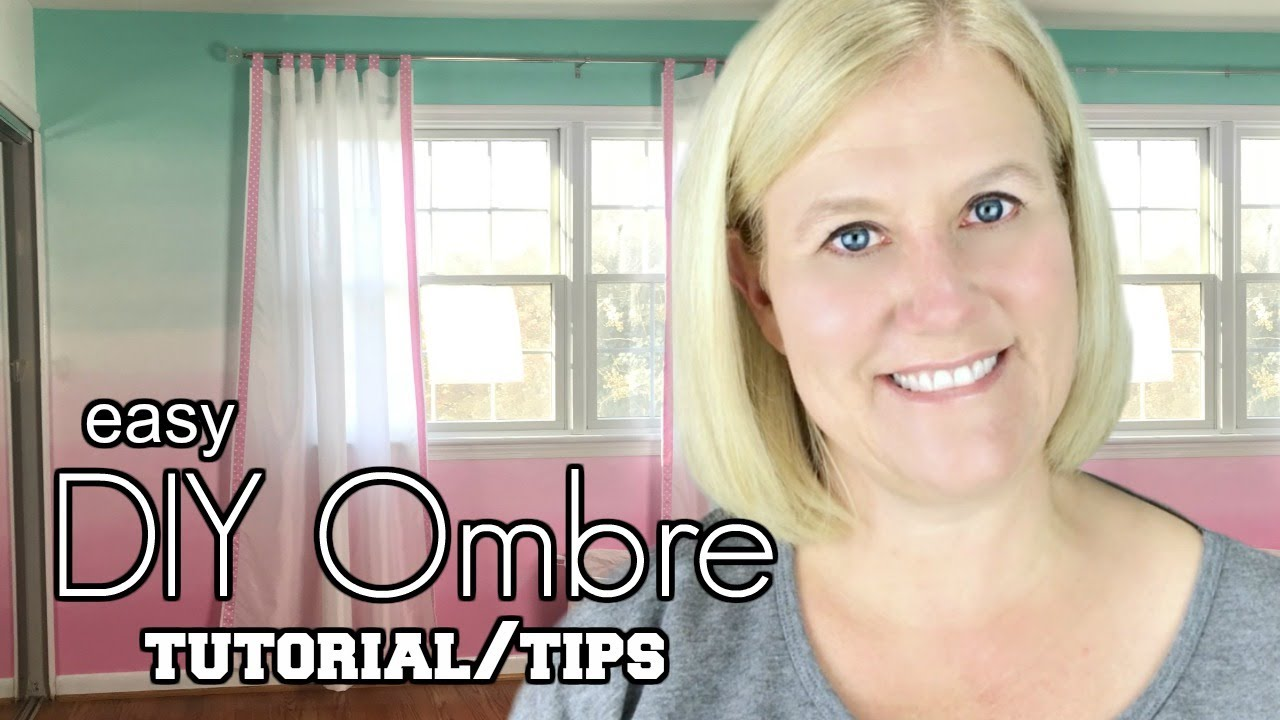 Ombre Wall Diy How To Paint An Accent Tutorial Tips Tricks