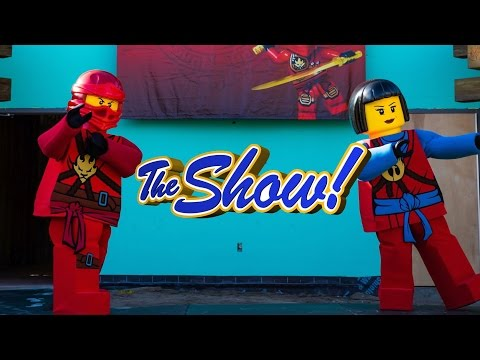 Attractions - The Show - LEGO Ninjago Construction; Theme Park Debate; latest news - Oct. 20, 2016