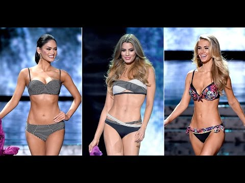 Miss Universe 2016 - 2017 Swimsuit Competition.