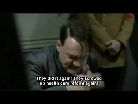 Hitler Finds Out the Massachusetts Senate Seat Was Won by Republican Scott Brown