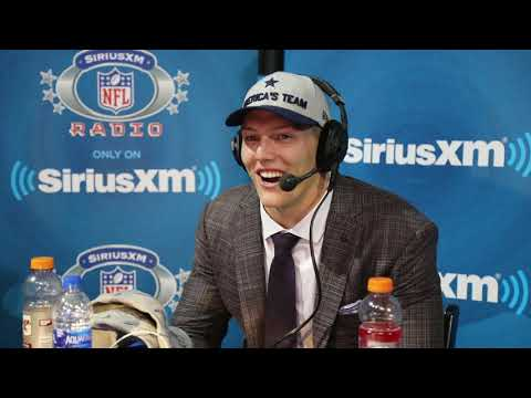 Dallas Cowboys pick Leighton Vander Esch on getting pranked by Jerry Jones