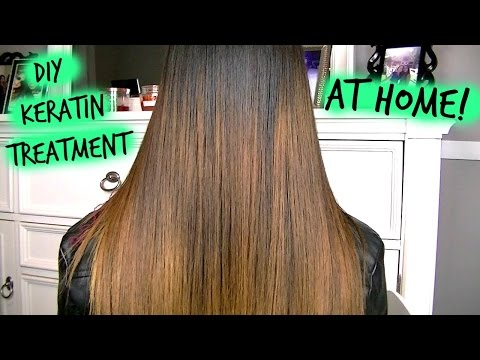 How To: Keratin Treatment AT HOME!