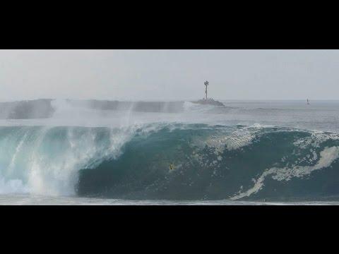 Newport Beach, CA, Wedge Surf 5ft - 8ft, 7/6/2014 - (1080p@60) Part 1